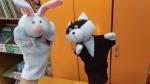 Кукольный театр в библиотеке!