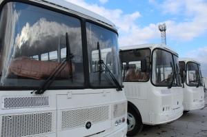 Четыре новых автобуса скоро выйдут на маршруты Искитима