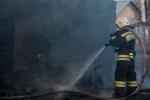 В п. Мичуринский Искитимского района произошел пожар