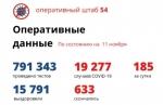Еще 185 случаев заражения коронавирусом подтверждено в Новосибирской области за сутки