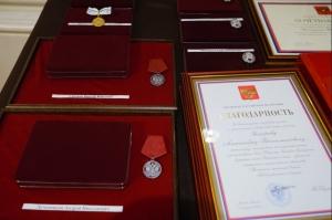 Артур Шотт и Петр Пронькин награждены почетными наградами Новосибирской области