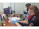 В Искитиме прошла онлайн-конференция с представителями правоохранительных органов и учениками школы №11