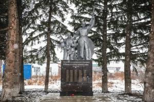 «Сибантрацит» отреставрировал монумент воинам Великой Отечественной войны в селе Елбаши