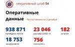 Еще 182 случая COVID-19 выявили в Новосибирской области