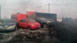 В Искитимском районе опрокинулся грузовик с углем