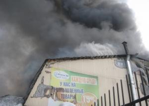8 января исполнился ровно год со дня пожара на центральном рынке