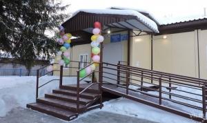 Новый фельдшерско-акушерский пункт с квартирой для медика и видеокамерами открыли в селе Тальменка
