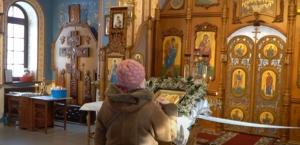 Пять липецких мастеров трудились над росписью Покровского храма в р.п. Линево
