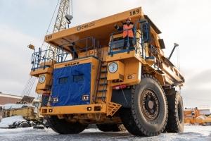 Новые БелАЗы готовы к работе на Колыванском угольном разрезе