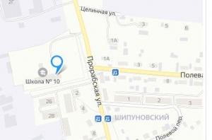"""Остановку общественного транспорта """"Полевая"""", что у школы №10, решили перенести"""