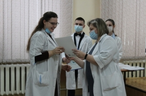 Награды вручены лучшим студентам медицинского техникума Искитима