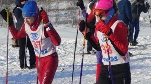 В Линево прошло первенство района по лыжным гонкам