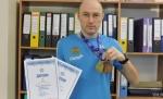 Золото и бронзу кубка России по биатлону среди ветеранов завоевал Андрей Балашов из села Улыбино Новосибирской области