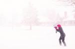 Штормовое предупреждение: на Искитим надвигаются  метели и похолодание