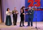Искитимцы принимали поздравления в честь Дня Защитника Отечества