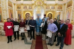 Патриарх Московский и всея Руси Кирилл наградил медиков искитимской больницы за самоотверженный труд в период пандемии