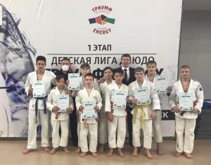 Искитимский дзюдоист в составе сборной области стал победителем 1 этапа детской лиги «Tриумф Energi»