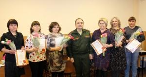 Традиционная встреча с мамами военнослужащих прошла в искитимском военкомате