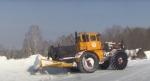 Дважды за зиму пришлось пробивать от снега дорогу между Белово и Девкино в Искитимском районе