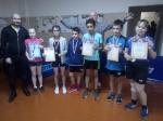 Пять призовых мест завоевали юные теннисисты Искитима на областном турнире