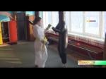 Золото первенства НСО по каратэ у линевской спортсменки Дарьи Куляминой