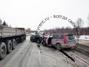 В ДТП на трассе в Искитимском районе пострадали пять человек