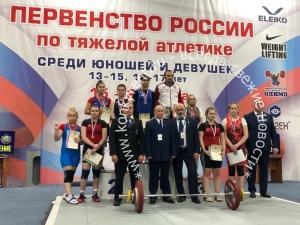 Серебро на Первенстве России по тяжелой атлетике завоевала спортсменка из Искитима