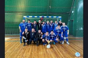 Сборная Искитима стала серебряным призером Чемпионата НСО по мини-футболу