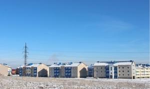 Три жилых дома сданы в эксплуатацию в Искитиме в прошлом году, еще пять - строится