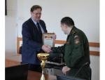 Глава города Сергей Завражин поздравил военный комиссариат Искитима за успешный призыв осенью 2020 года