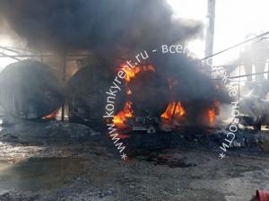 В начале недели в Искитимском районе произошло сразу несколько пожаров