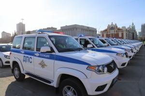 На новом служебном автомобиле будут патрулировать дороги Искитимского района