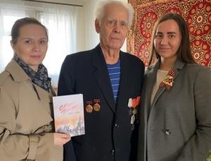 НЗИВ поздравил ветеранов с Днем Победы
