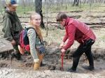 Пять тысяч саженцев посадили волонтеры в Искитимском районе