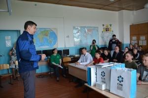 «Сибантрацит» проводит экоуроки в сельских школах Новосибирской области