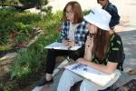У юных художников Искитима началась пленэрная практика