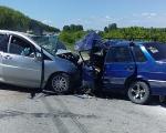 В тройной аварии под Бурмистрово пострадали шесть человек