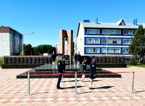 В день России в р.п Линево Искитимского района состоялась церемония открытия Аллеи Боевой Славы