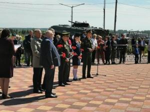 Мемориал защитникам Отечества открыли в поселке Линево в День России