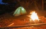 На палатку на берегу Обского моря наехала жительница Кемеровской области