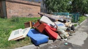 Вновь мусорный коллапс в Искитиме