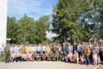 В День ВДВ десантники Искитима провели возложение цветов к памятникам и мемориалам