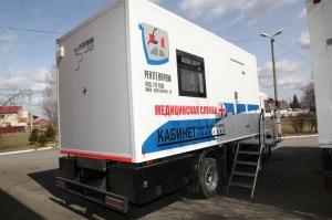 Передвижной флюорограф 12 и 13 августа будет работать в Ложках