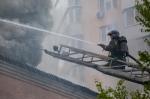 На помощь искитимским пожарным прибыла оперативная группа МЧС России