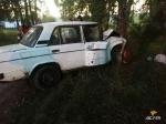 В Белово Искитимского района подростки помогли пенсионеру, а потом разбили его автомобиль