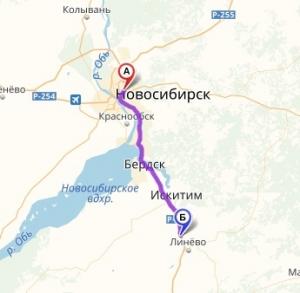 """Возобновляется движение автобуса по маршруту """"Линёво-Новосибирск"""""""
