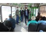 Рейд по контролю за соблюдением масочного режима в автобусах