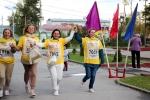 Всероссийская акция «Кросс нации» пробежала по Искитиму уже в пятый раз