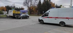 ДТП с участием нескольких автомобилей произошло в Искитиме. ОБНОВЛЕНО